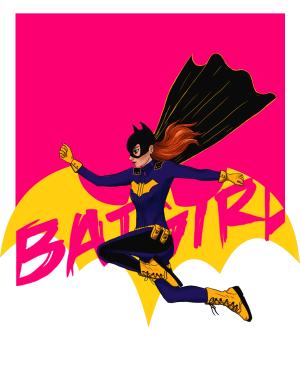 Batgirl-Print